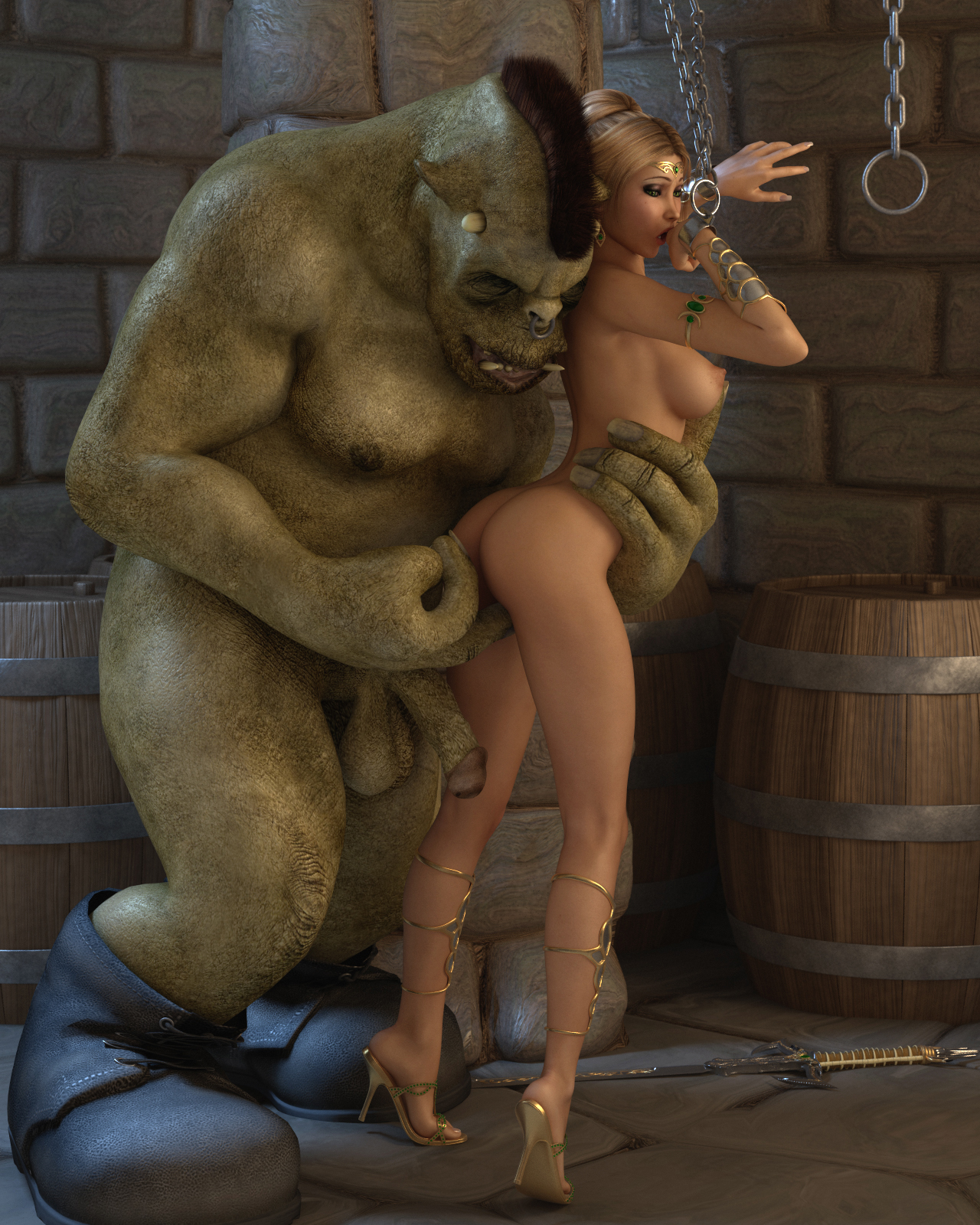 Sex cartoons 3d monster photo sex scene