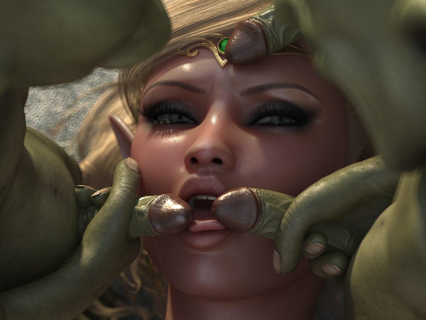 World of warcraft goblin gang bang hentai gallery