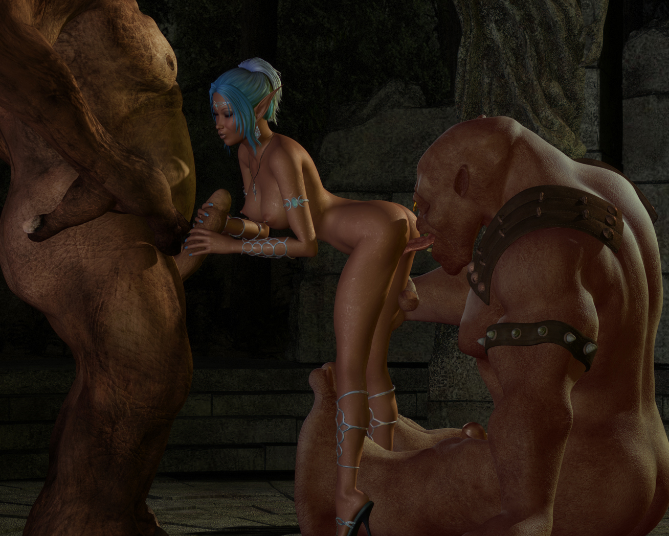 Porno 3d pix elves fucked by monsters porn woman