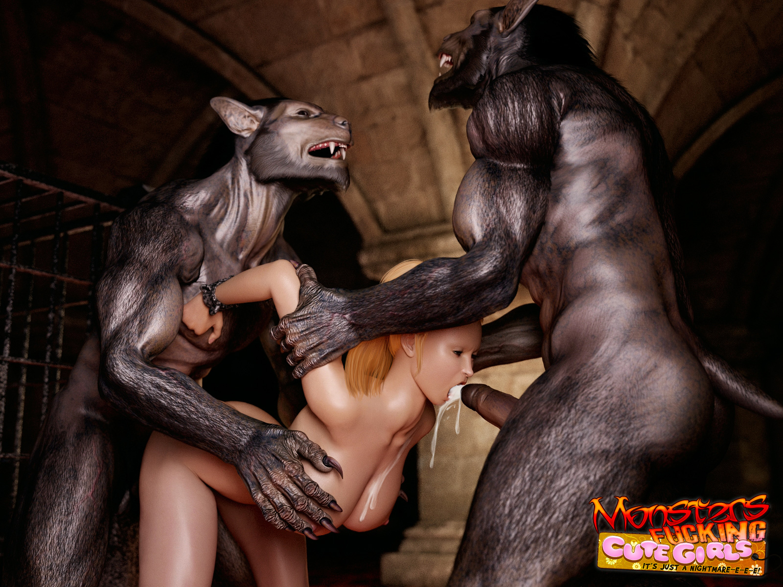 Free 3gp monster cartoon fucking video download xxx image