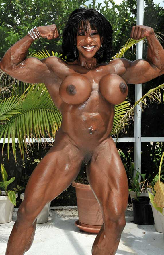 Girls with muscles nude